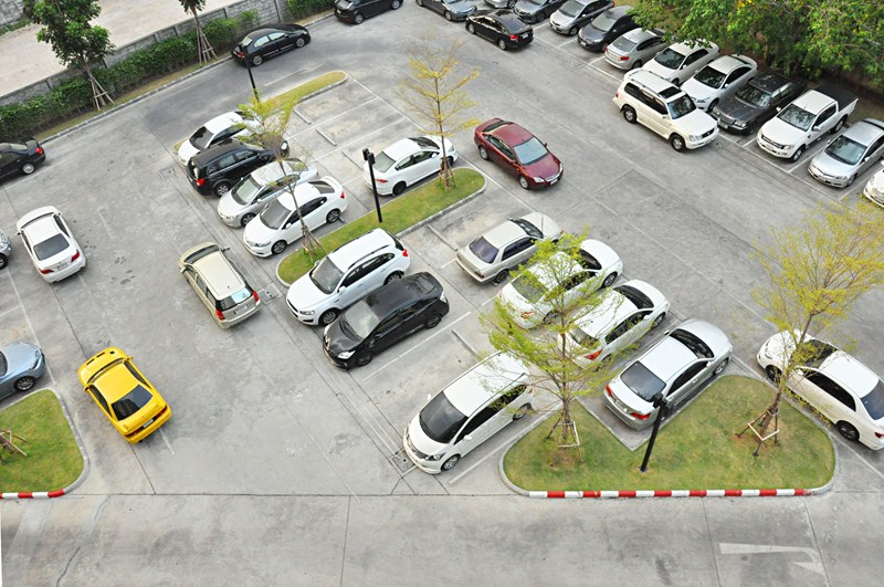 Tax for provision of parking spaces