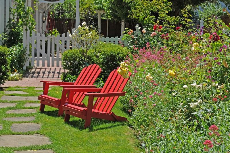 Disposing of garden or grounds
